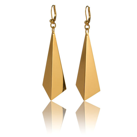 Facet Earrings (Gold)