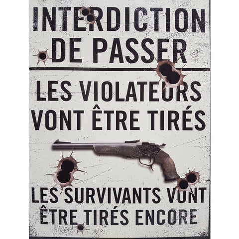 Interdiction de passer