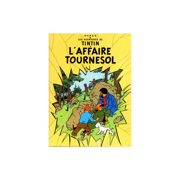 Affiche Tintin L'Affaire Tournesol