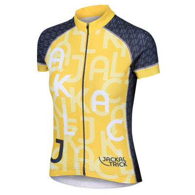 Cycling Clothing Womens Cycling Jersey Made In Britain Jackal