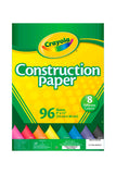 CRAYOLA PAPEL CONTRUCCION 96/1