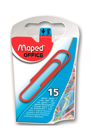 MAPED CLIPS JUMBO 50MM 15/1