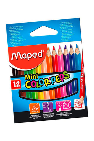 MAPED JUEGO LAPICES COLORES
