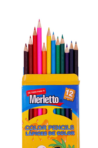 MERLETTO JUEGO LAPICES COLORES
