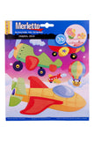 MERLETTO STICKERS 3D
