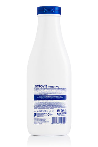 LACTOVIT GEL BANO ORIGINAL 600ML