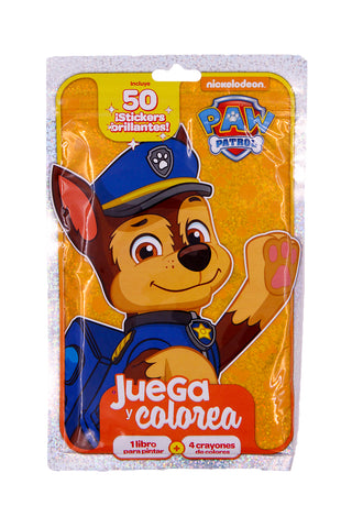 LIBRO PLAY PACK PAW PATROL