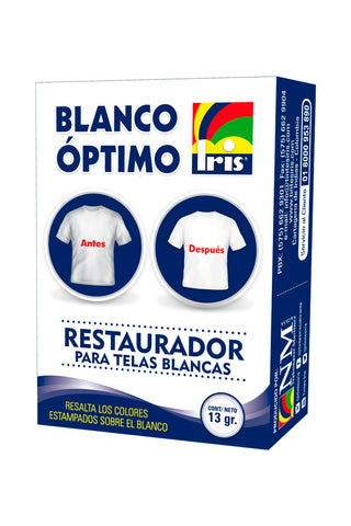 IRIS RESTAURADOR BLANCO OPTIMO 13GR