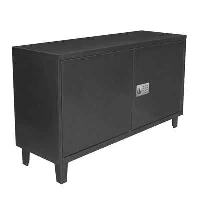 "Rack TV Electronic lock 52"" negro"