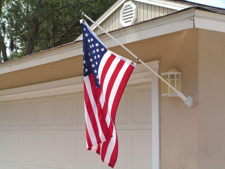 most effective method to Display the U.S. Flags