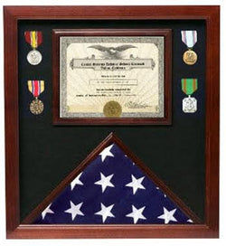 Flag Connections Veterans Made Flag Document Case American Flags 4 x 6