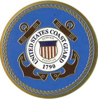 Flags Connections COAST GUARD Color Medallion