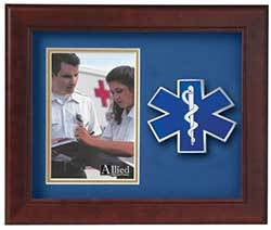 Emergency Medical Services Vertical Picture Frame 4 x 6
