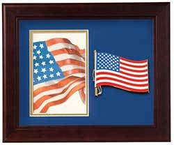 American Patriotic Vertical Picture Frame