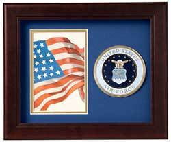 United States Air Force Vertical Picture Frame