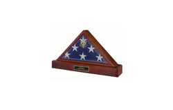 Flag and urn display case / Eternity Flag case, Flag Display Case