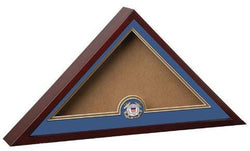 Flag Connections United States Coast Guard Interment Burial Flag Display Case