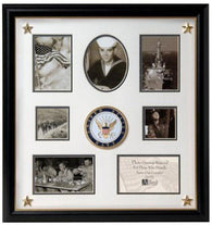 Flag Connections United States Navy Collage Frame.