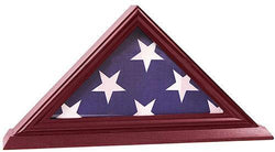 Flag Connections 3'x5' Flag Display Case, Shadow Box (Not for Burial Funeral Flag)