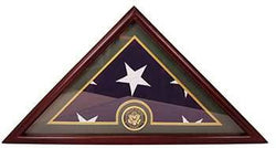 Army Flag Display Case Box, 5x9 Burial