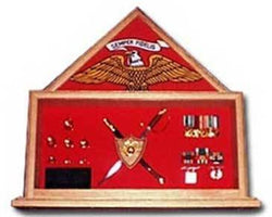 Flags Connections marine Corps Retirement Flag Case