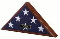Flags Connections Veteran Flag Case, Veteran Flag Display Case