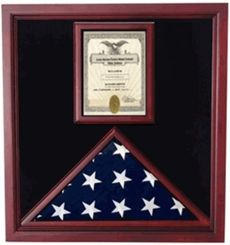 Flag and Document Case - Vertical 8 1/2 x 11 Document