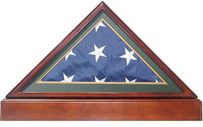 Burial/Funeral Flag Display Case Frame Military Shadow Box