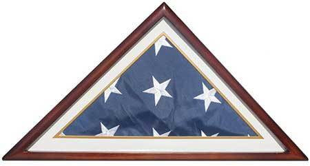 Memorial/Burial Flag Display Case Stand Holder 5'X9.5'