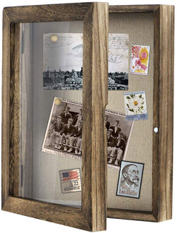 Shadow Box Frame , Shadow Box Display Case with Linen Back