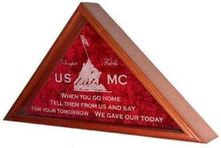 Marine Corps Flag Display Case, USMC Flag Case