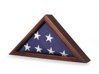 Armed Forces Flag Case - Great Wood Flag Case