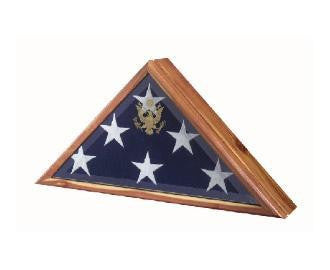 Burial Flag Frame - High Quality Flag Frame. - The Military Gift Store