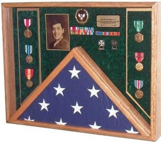 Awards, Flag Display Case. - The Military Gift Store