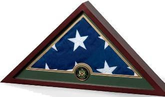 Military Frame, Military Flag Display Case.