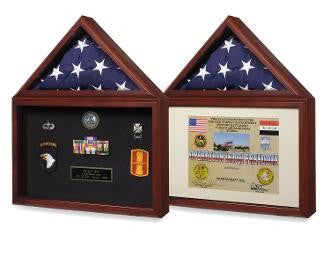 Air force Flag,medal display case,Flag Shadow Box