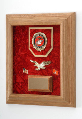 Deluxe Awards Display Case Tribute To Soldiers.