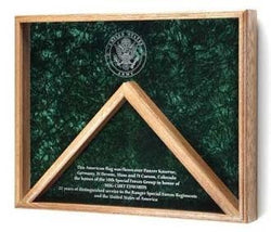 Deluxe Combo Awards, Flag Display Case.