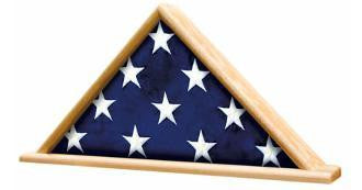 Ceremonial Flag Display Triangle.