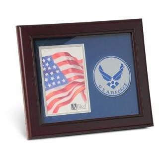 US Air Force Medallion Portrait Picture 4 inch x 6 inch.