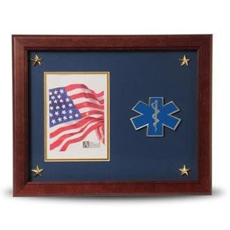 EMS Medallion Frame for 5x7 Picture Frame with Stars