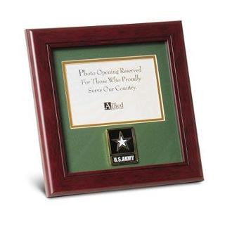 Go Army Medallion Landscape Picture Frame