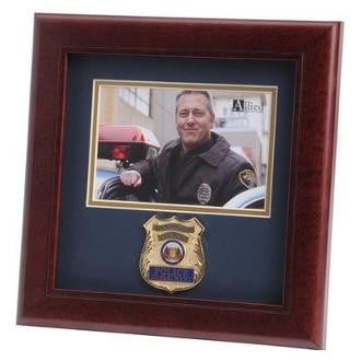 Police Department Medallion Picture Frame
