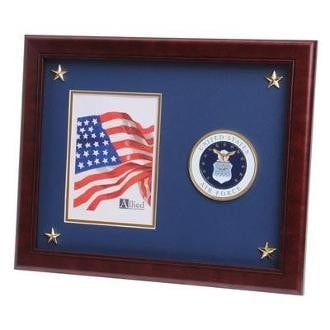 U.S. Air Force Medallion Picture Frame with Star Large U.S. Air Force Medallion