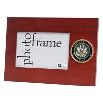 U.S. Army Medallion Desktop Picture Frame
