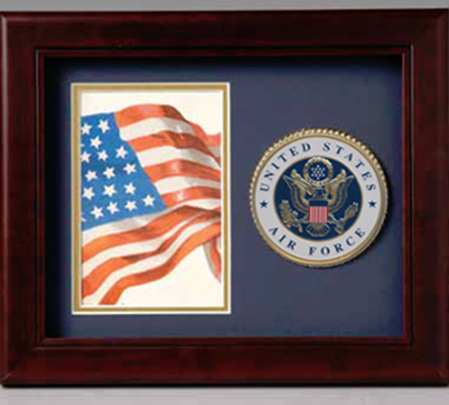 Flag Connections Photo and medallion frame Air Force, Air Force Medallion Frame