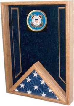 Flag Connections Navy Flag Display Case , flag shadow Box