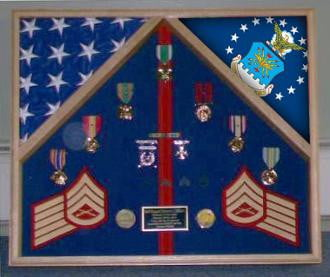 Navy Frame Navy Flag Display Case Navy Gifts Hand Made By Veterans