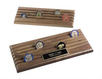 Challenge Coins Rack, Challenge Coin Display..