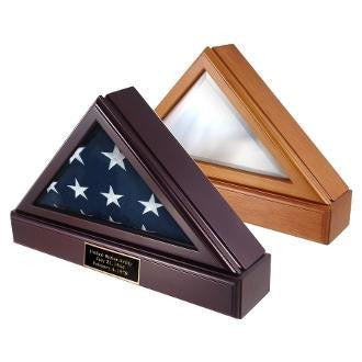 FLAG SHADOW BOX, Pedestal For 5ft x 9ft Flag.